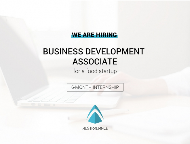 Stage à Melbourne: Business Development Associate