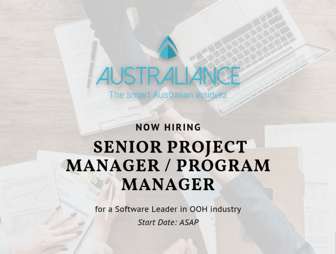 Senior Project Manager / Program Manager