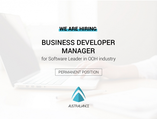 Hired — Business Developer Manager (basé à Sydney)